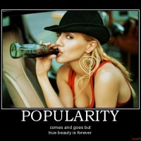 popularity-beauty-demotivational-poster-1273354013